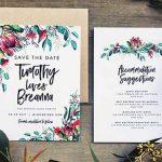 Destination Wedding Invitations: Timing and Wording