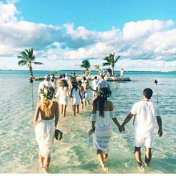 fiji tropical destination wedding