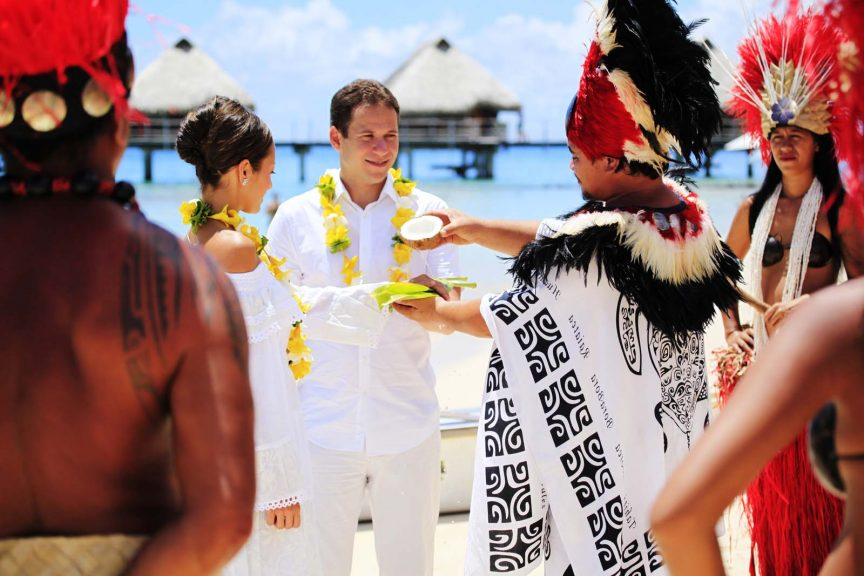 Tahiti wedding