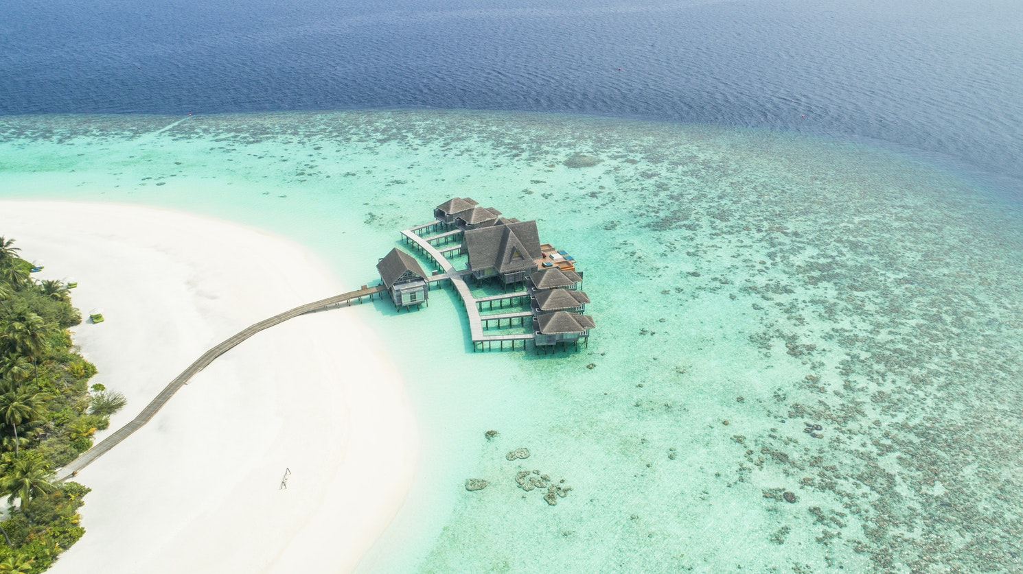 maldives tropical destination wedding location
