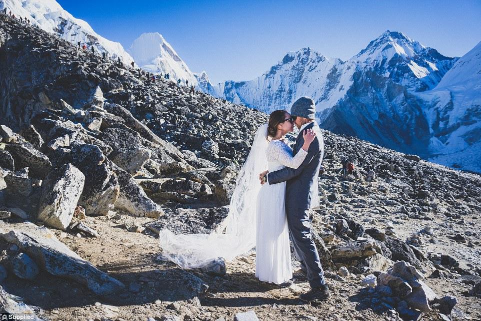 Extreme wedding locations