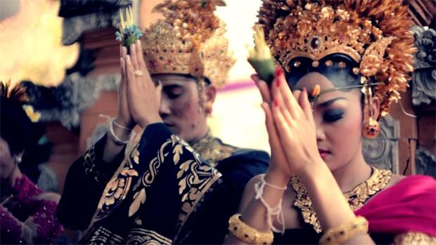 Bali wedding tradition