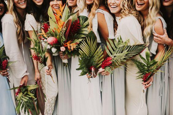 destination wedding etiquette bridal party
