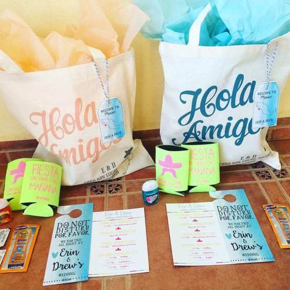 destination wedding etiquette bags