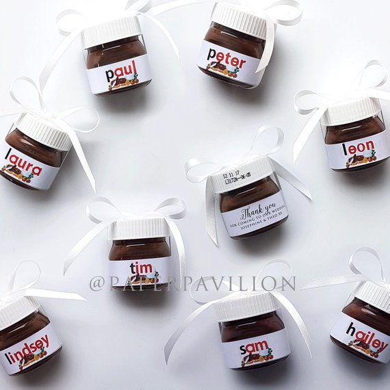 Destination Wedding Favour