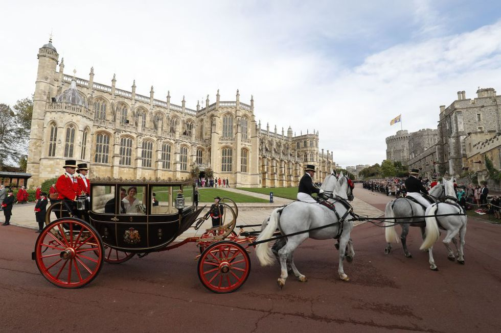 Carriage Winsdor castle