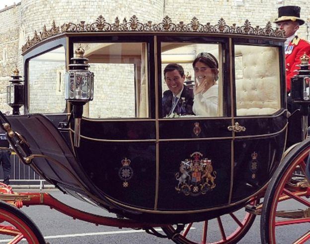 Carriage royal wedding princess eugenie