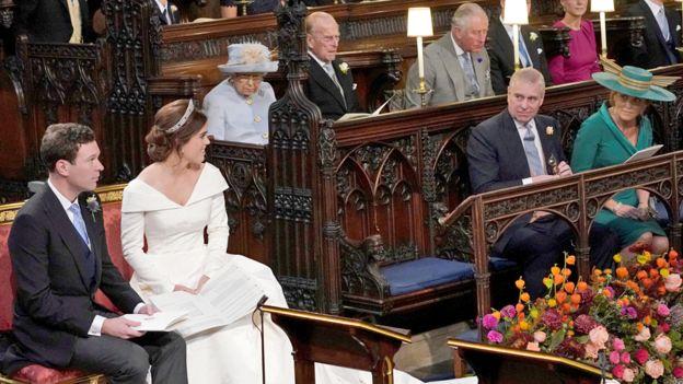 St George's chapel royal wedding