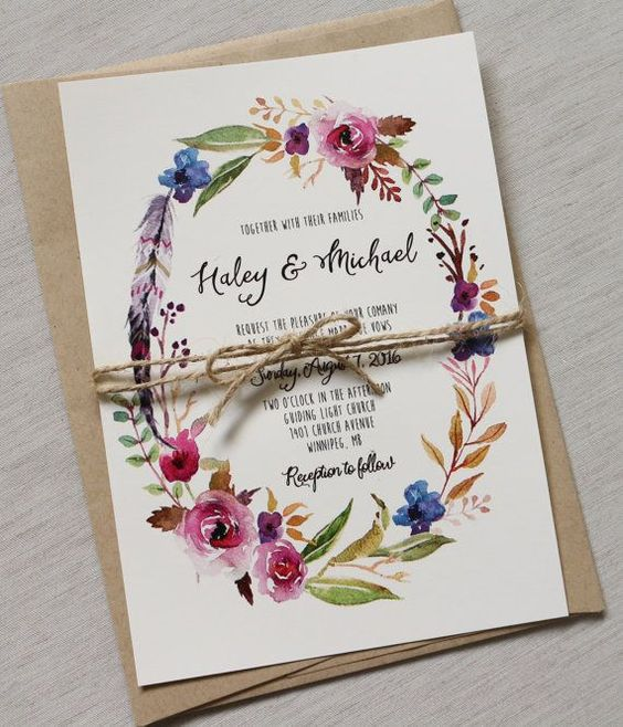 whimsical wedding stationary
