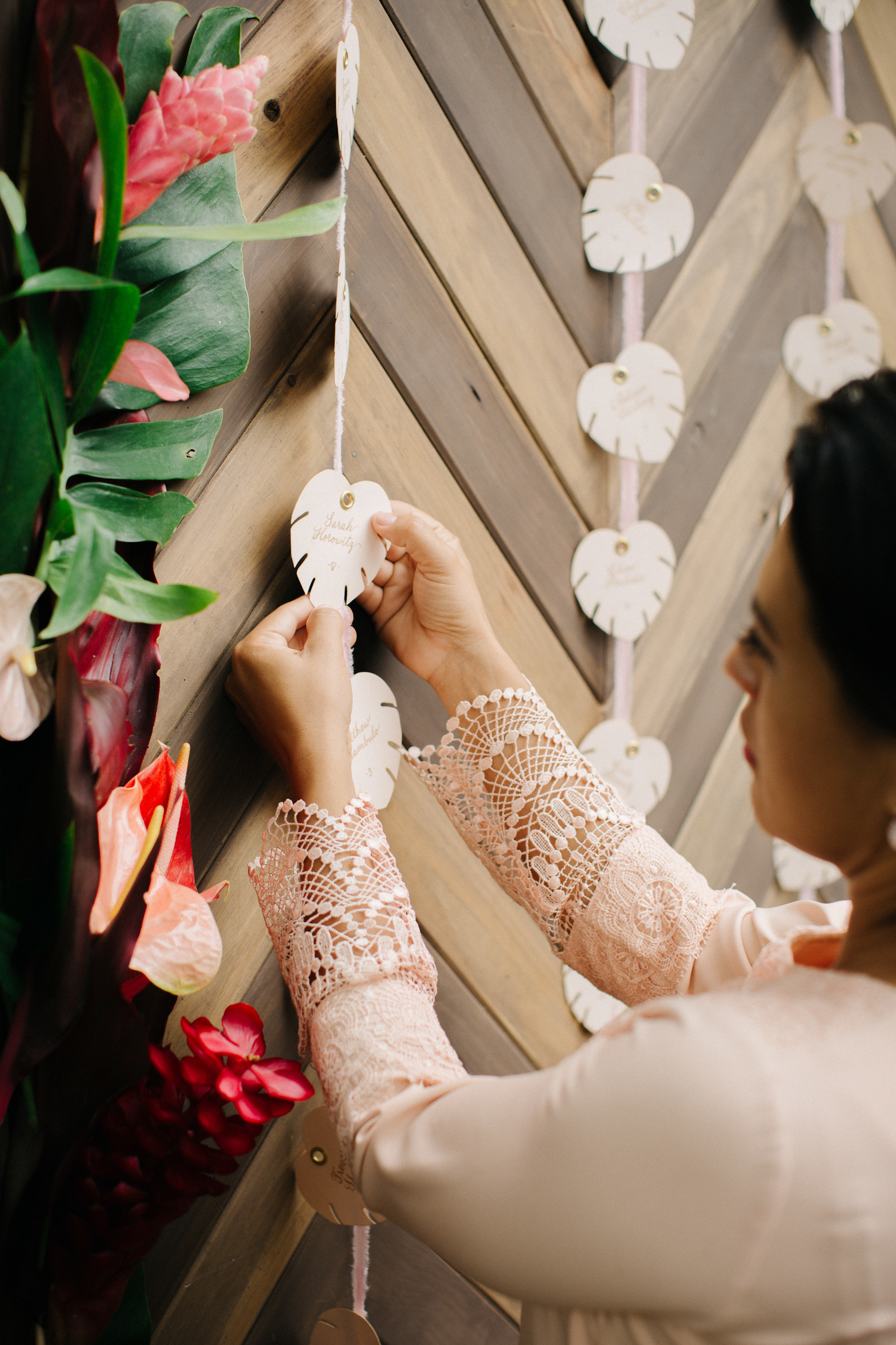 fiji destination wedding details