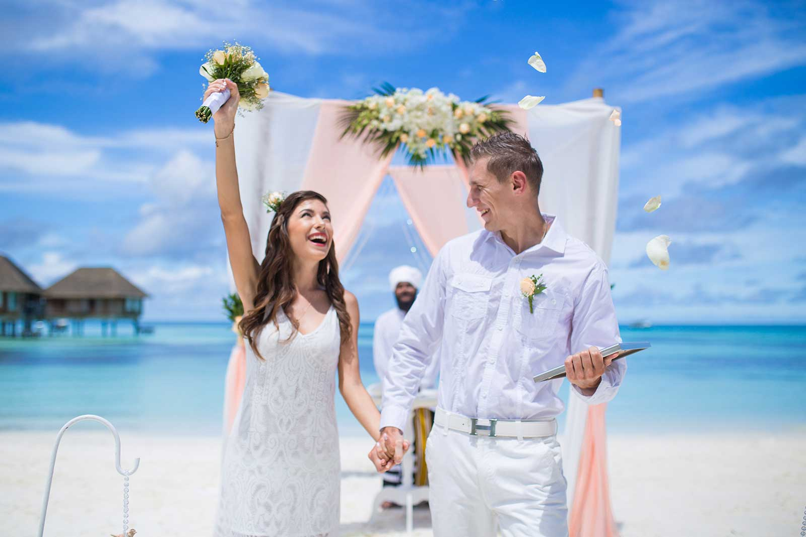Maldives outdoor destination wedding location