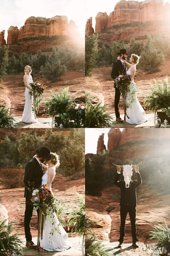 Arizona destination wedding