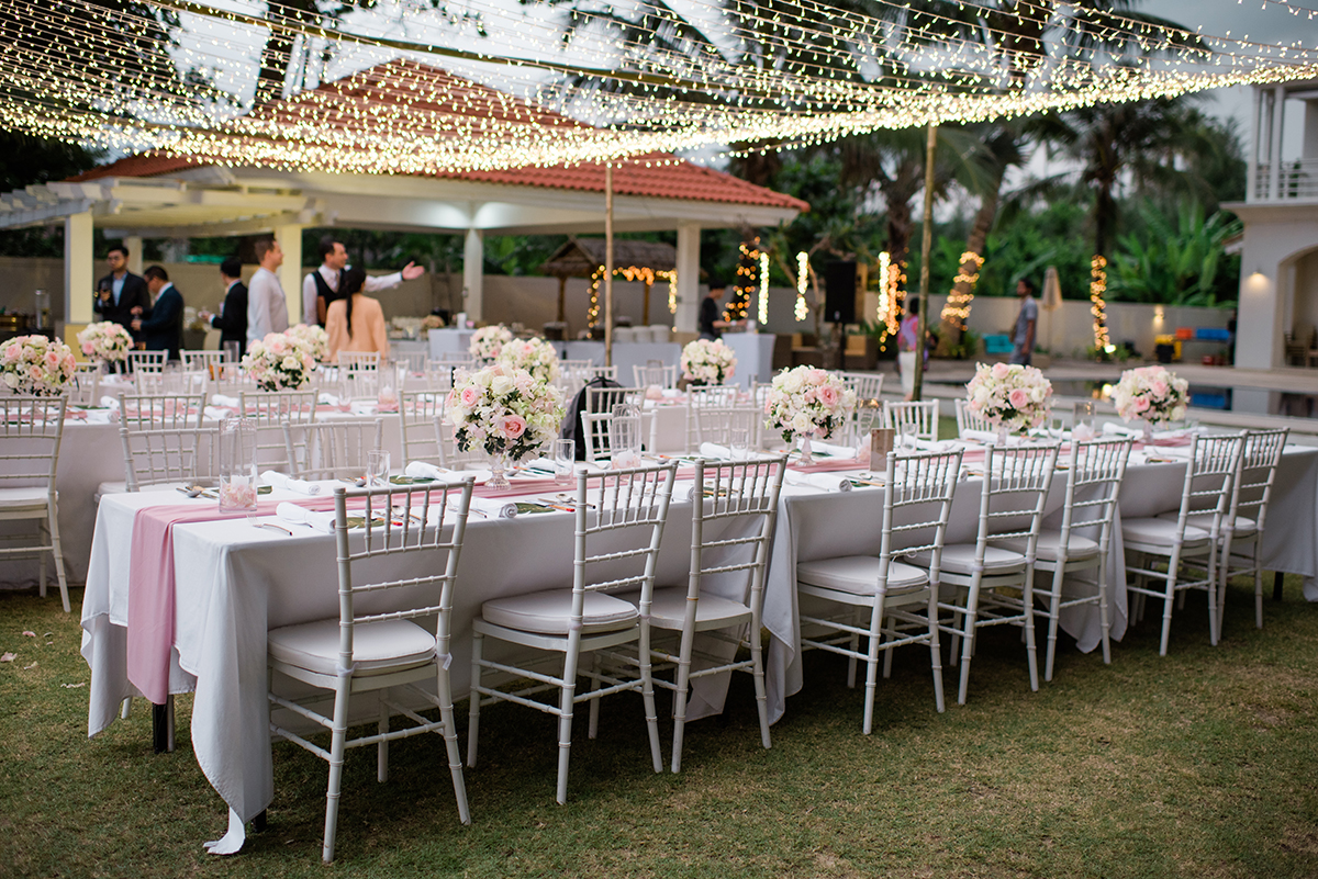 reception thailand wedding