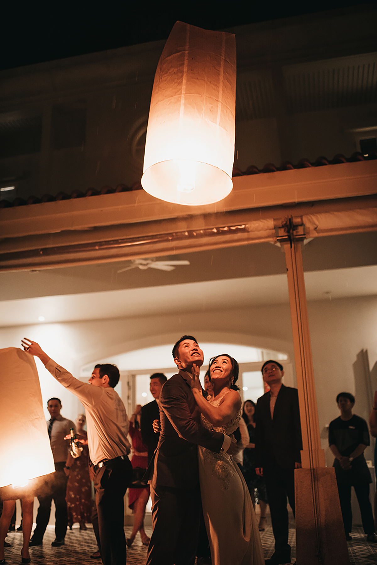 phuket lanterns wedding
