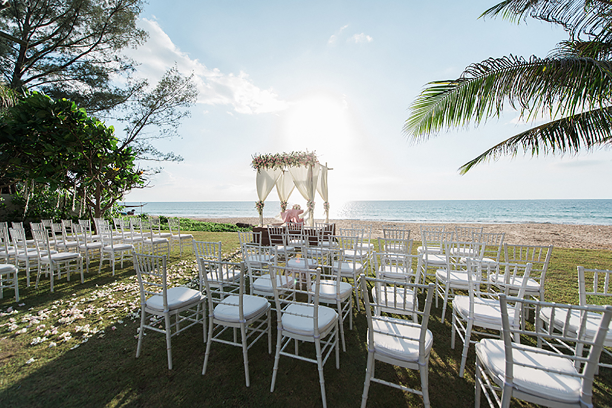 ceremony set up phuket wedding