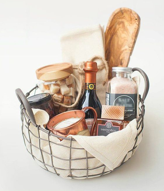 gift basket wedding present destination