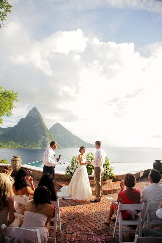 st lucia wedding destination