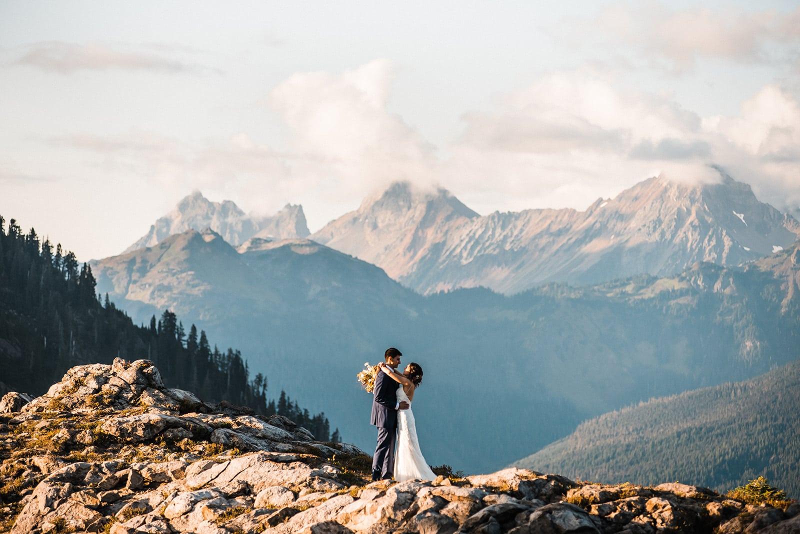 North Cascades USA Elopement