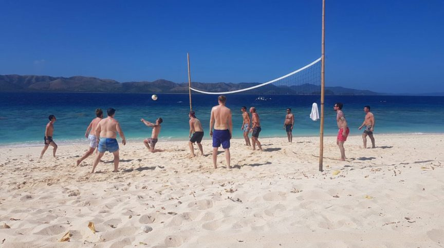 beach volleyball in the Philippines