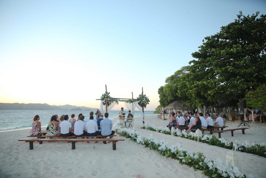 ceremony setting in the Philippines