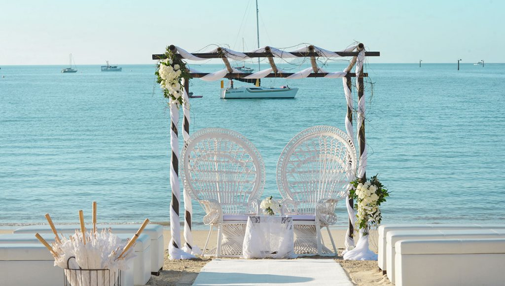 Palm Bay Resort Whitsundays Elopement package