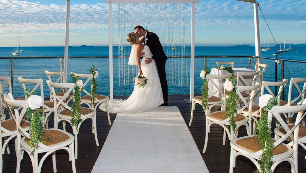 Sorrento Restaurant and Bar Whitsundays Elopement package