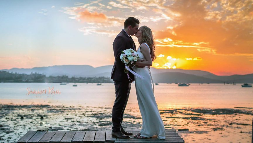 Elope to the Whitsundays with these intimate elopement packages. Photo: Divine Weddings Whitsundays