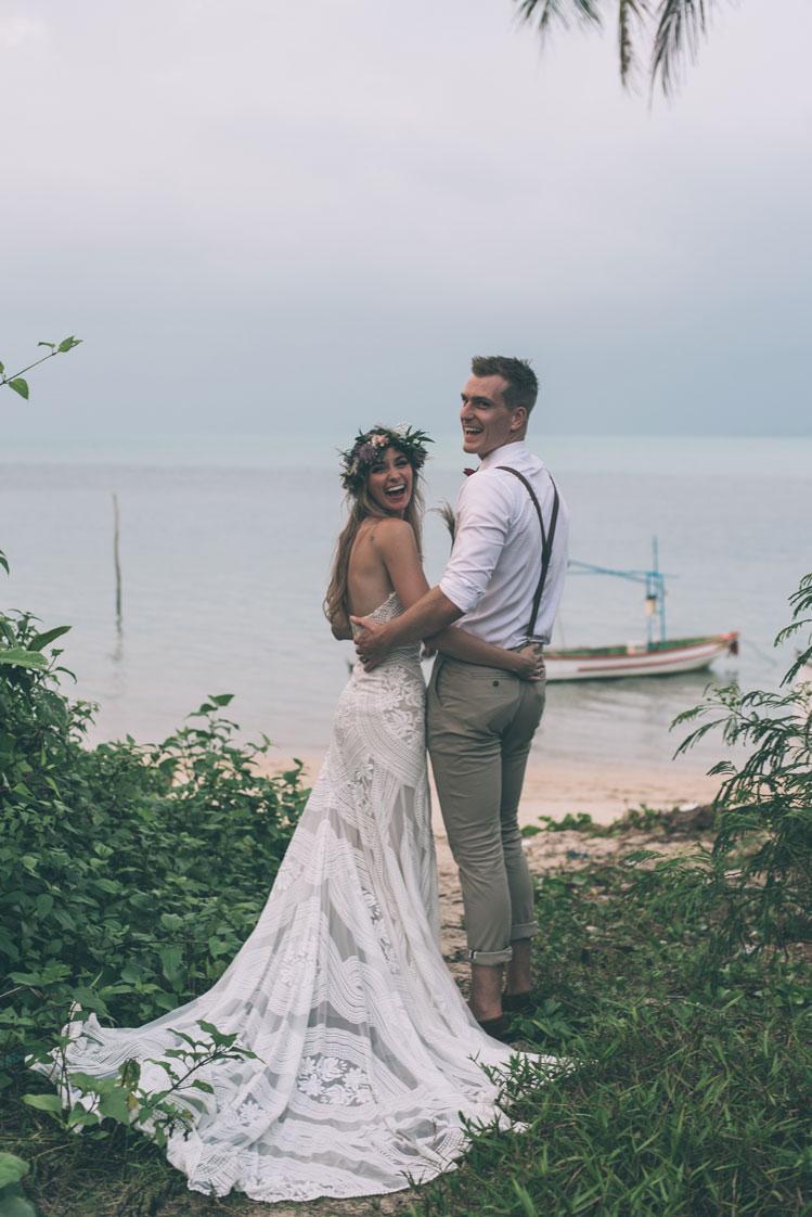 real wedding hannah alan
